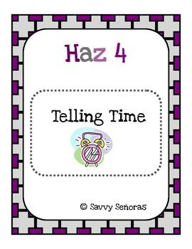 Haz 4: Telling Time