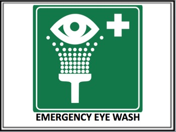 Printable Hazard Signs -Lab Safety Science Posters- 19 Posters