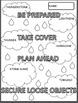 Hazardous Weather Science Doodle Notes