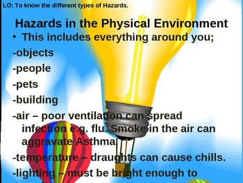 Hazards in Health and Social Care