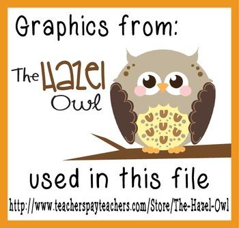Hazel Owl Credit Buttons/Images - FREE