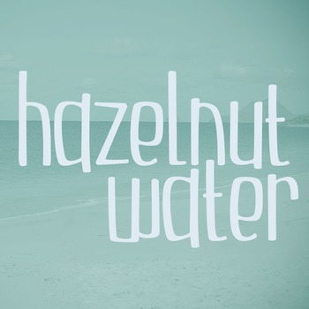 Hazelnut Water Font for Commercial Use