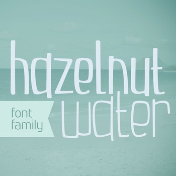 Hazelnut Water Font Family for Commercial Use
