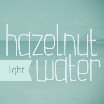 Hazelnut Water Light Font for Commercial Use