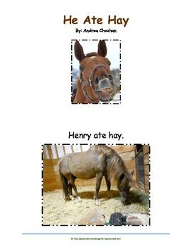"""He Ate Hay """"Little Reader"""" book"""