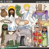"Easter Story Clip Art: ""He Is Risen!"""