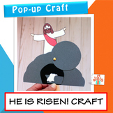 He Is Risen Craft - Easter Religious Craft Activity- Easte