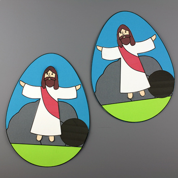 He Is Risen! Easter Egg Craft