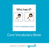 He/She- Interactive Core Vocabulary Book