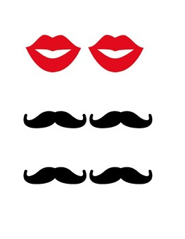 He/She Lips/Mustache