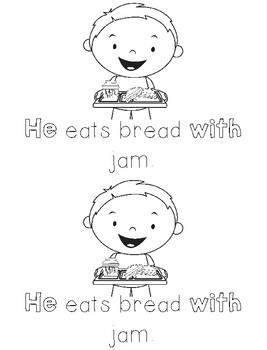 He With Sight Word Books