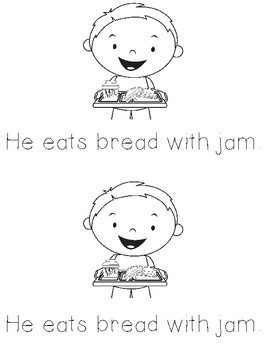 He With Sight Word Books for Classroom Library