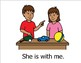 With Me (Sight Word Story Book to support Reading Street K)