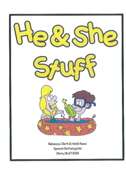 He and She Stuff - pronouns