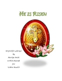 Readers Theatre: He is Risen, A Script for Easter