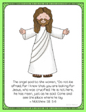 He is Risen, Jesus is Alive Easter Poster, Class Decor, Ho