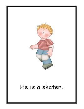 He is . . . Wonders Kindergarten Big Book (Unit 6)