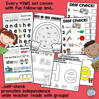 Community Helpers Sight Word Readers and Activities!