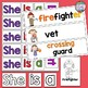 Community Helpers Sight Word Reader and Writing Activities