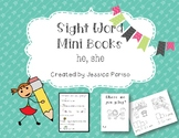 He, she Sight Word Mini Book