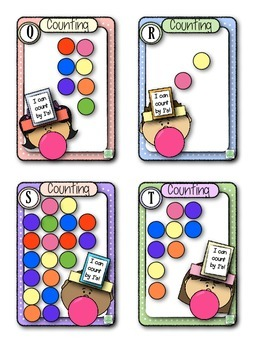 Head Band Counting Game for Kindergarten and First Grade