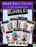 Head Band Games for Kindergarteners BUNDLE! 7 Products!!