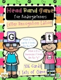 Head Band Letter Recognition Games for Kindergarteners