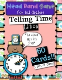Head Band Telling Time Games for 2nd Graders