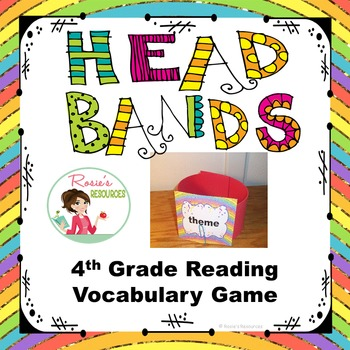 Head Bands Reading Vocabulary Review Game