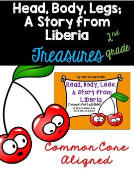 Head, Body, Legs: A Story from Liberia:Treasures 2nd Grade