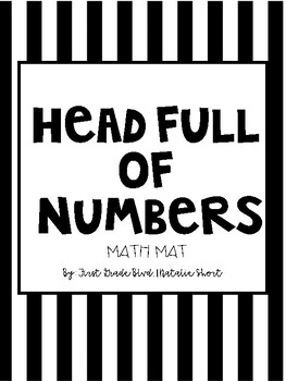 Head Full of Numbers - Math Mat