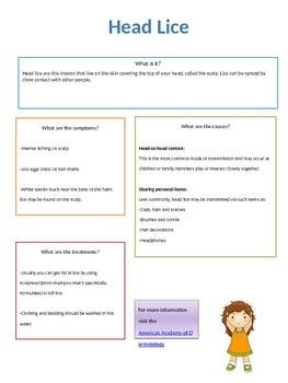 Head Lice Fact Sheet