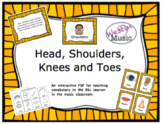 Head, Shoulders, Knees and Toes: ESL Vocab, Flashcards, Wo