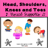 Head, Shoulders, Knees and Toes Visual Supports