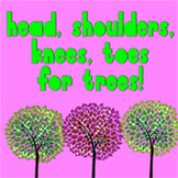 Head Shoulders Knees and Toes for Trees (music video)- Great for Earth Day!