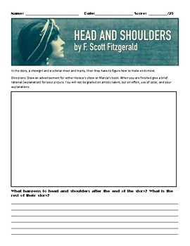 Head and Shoulders by F. Scott Fitzgerald Assignment