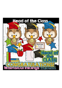 Head of the Class Clipart Collection