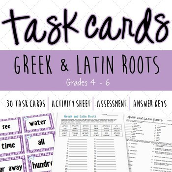 Head to Head Greek and Latin Roots
