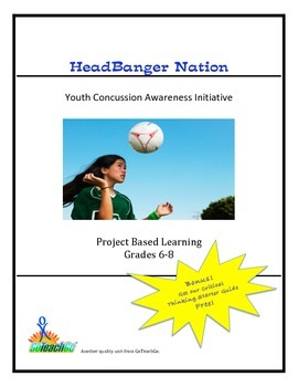 HeadBanger Nation - Youth Concussion Awareness Initiative  Grades 6-8
