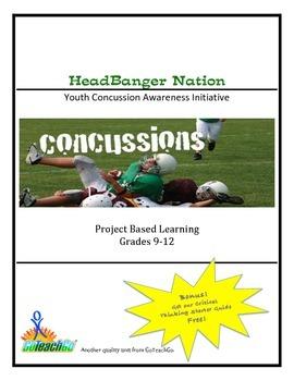 HeadBanger Nation - Youth Concussion Awareness Initiative  Grades 9-12