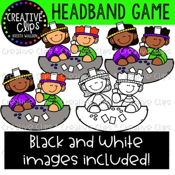 Headband Game Clipart {Creative Clips Clipart}