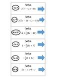 Headband - Simplifying Algebraic Expressions