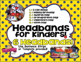 Headbands ~ Crowns for Special Days! Birthday, 100 Day, Aw