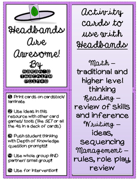 Headbands Are Awesome -- Traditional Review and Deeper Thi