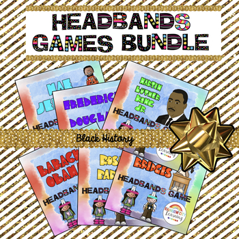 Headbands Games Bundle for Black History Month