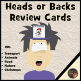 Early Learning Vocabulary - Review Cards