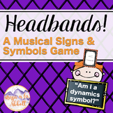 Headbands: a Musical Signs and Symbols Game