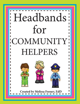 Headbands for Community Helpers