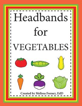 Headbands for Vegetables