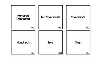 Headbandz Fourth Grade Math Vocabulary All Standards